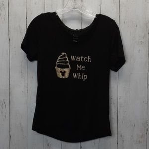 A New Day  tee shirt Watch me whip Disney